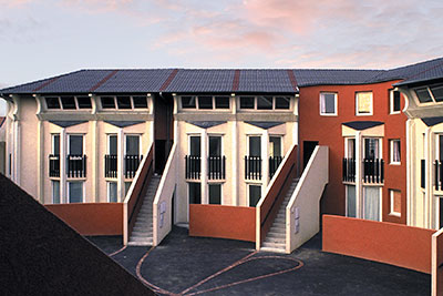 30 logements sociaux, Stains